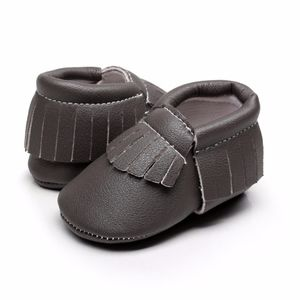 Other - New dark gray soft sole baby toddler moccasins